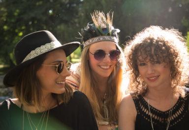 Junggesellinnenabschied im Englischen Garten