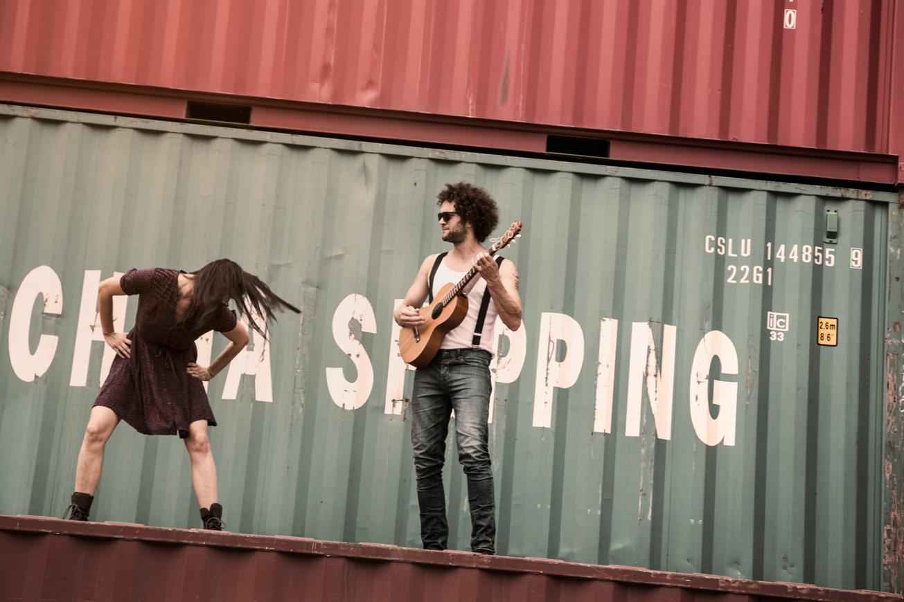 paar macht musik zusammen