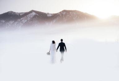Hochzeit auf der Brösel Alm